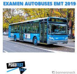 examen de autobuses EMT 2019