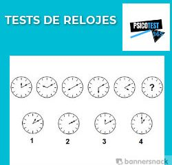 tests de relojes