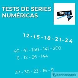 tests de series numéricas