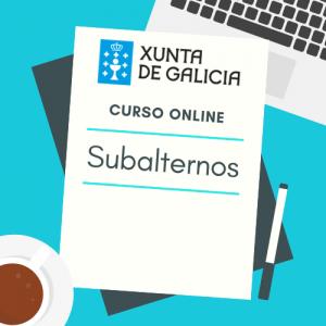 curso online subalternos xunta de galicia