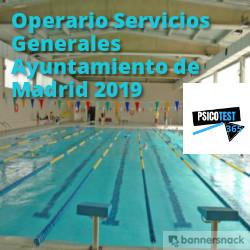 operario servicios generales ayuntamiento de madrid 2019