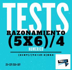 tests de razonamiento numérico