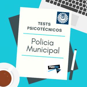 tests psicotécnicos policia municipal