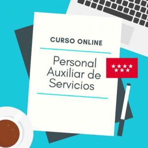 curso online personal auxiliar de servicios