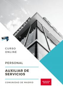 curso online personal auxiliar de servicios de la comunidad de madrid