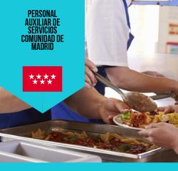 personal auxiliar de servicios de la comunidad de madrid