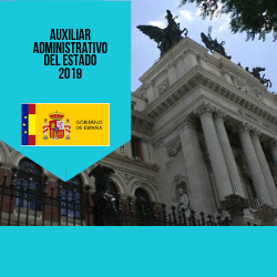 Auxiliares Administrativos del Estado 2019