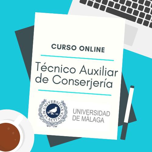 curso online técnico auxiliar de conserjería universidad de málaga