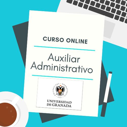 curso online auxiliar administrativo universidad de granada