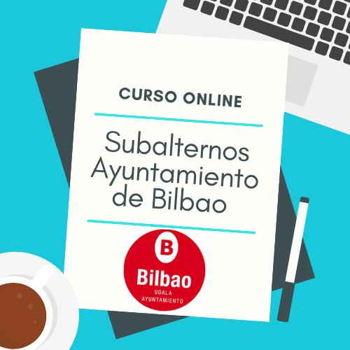 curso online subalternos ayuntamiento de bilbao