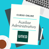 curso online auxiliar administrativo UNED