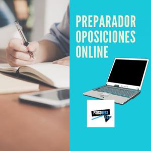 preparador de oposiciones online