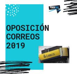 oposición de correos 2019