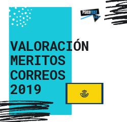 valoración de méritos correos 2019