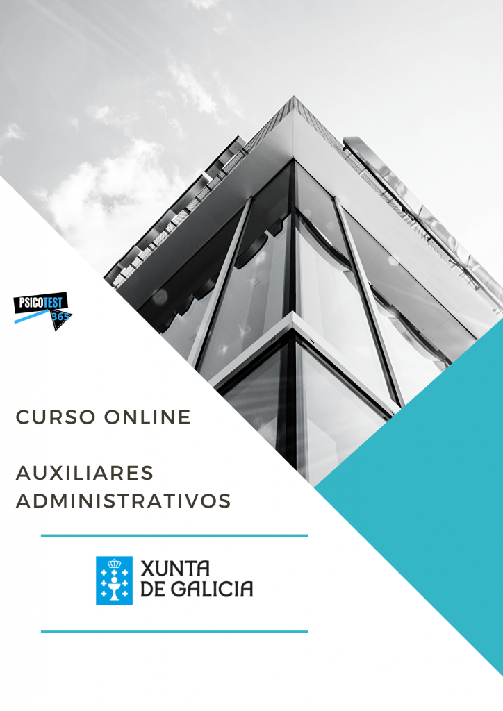 Curso Online de Auxiliares Administrativos de la Xunta de Galicia