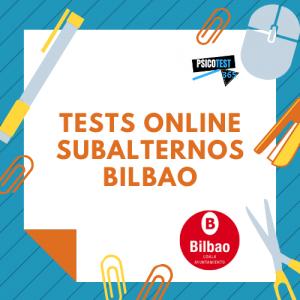 tests online subalternos ayuntamiento de bilbao