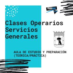 Clases de Operarios de Servicios Generales