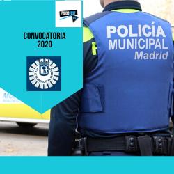 Policia Municipal del Ayuntamiento de Madrid 2020