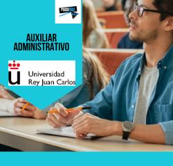 auxiliar administrativo universidad rey juan carlos