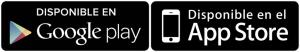 Disponible en GooglePlay y AppStore
