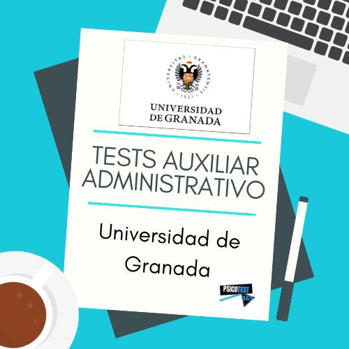 tests auxiliares administrativos universidad granada