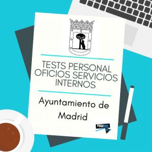 tests personal oficios servicios internos