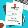 tests auxiliar administrativo comunidad de madrid