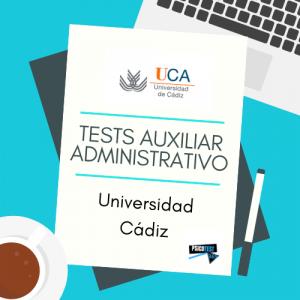 tests auxiliares administrativos universidad cádiz